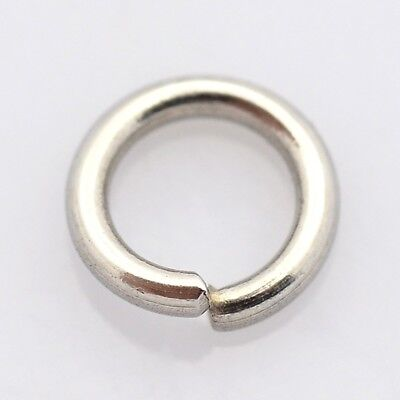 Stainless Steel Jump Rings 4 mm - 10 mm. 304 Grade 4 mm, 5 mm, 6 mm, 8 mm, 10 mm