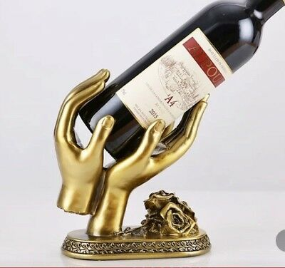 Wine bottle Display holder - Hands