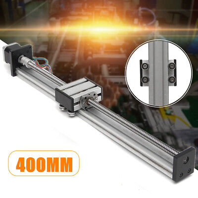 1204 Ball Screw Linear Slide Stroke 400MM Long Stage Actuator +  Stepper Motor