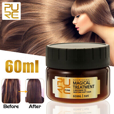 PURC Magical Hair Treatment Mask Nutrition Repairs Hair 5s To Restore Soft Hair