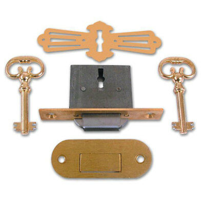 Asec No. 185 4 Lever Roll Top Desk Lock (AS6519)