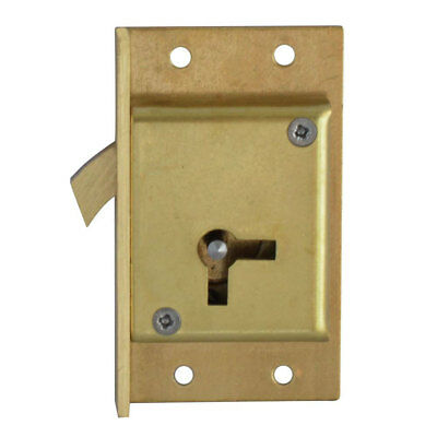 Asec No. 80 4 Lever Cut Cupboard Lock 64mm LH (AS6517)