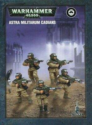 Easy To Build Astra Militarum Cadians 99120105071 Games Workshop Brand New