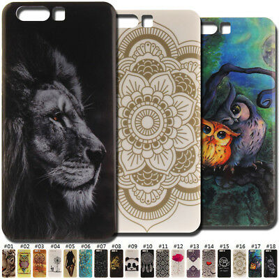 Cute Various Silicone Skin Gel Painted Soft TPU Case Back Cover For Huawei P10
