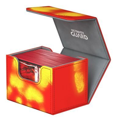 Ultimate Guard - Side Winder chromiaskin Deck Case 100+ Red Inferno Gaming Deck