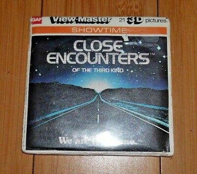 * Mint * Close Encounters Of The Third Kind 1977 Viewmaster Reels J47 Rare  A528