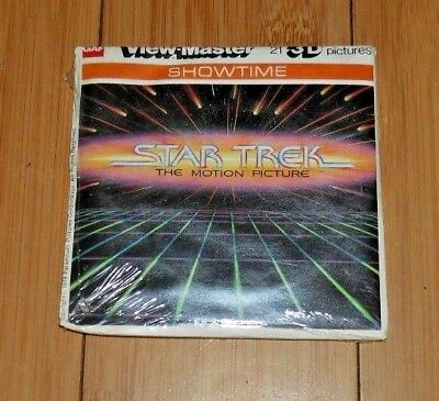 * Sealed * Star Trek The Motion Picture Viewmaster Reels 1979 Set K57 Rare  A522
