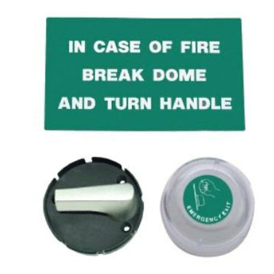 Union Emergency Exit Dome & Turn (J8070-AS)