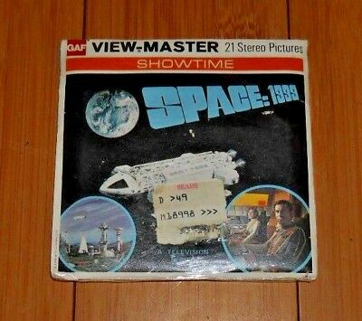 * Sealed * Space 1999 Gerry Anderson Viewmaster Reels 1975 Set Bb 451 Rare  A523