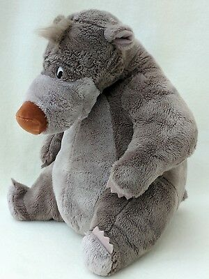 The Jungle Book Baloo Disney Store Soft Plush Toy Cuddly Teddy Bear 35cm