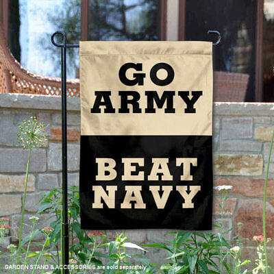 Army Black Knights Beat Navy Garden Flag and Yard Banner