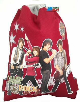 Drawstring Bag - Camp Rock - Red
