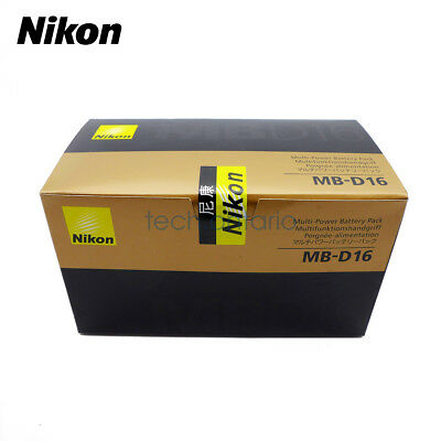 NEW Nikon MB-D16 Vertical Battery Grip for D750 camera Sealed Box From CA US