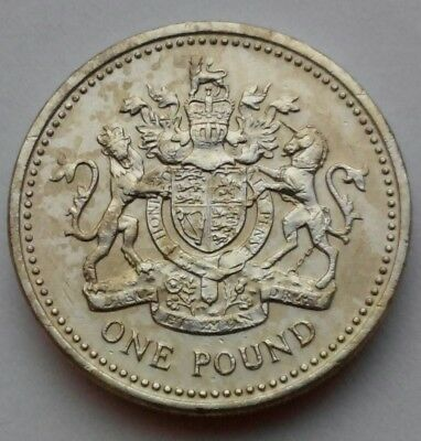 Great Britain, UK 1 Pound 1983. KM#933. One Dollar Coin. First and one year issu