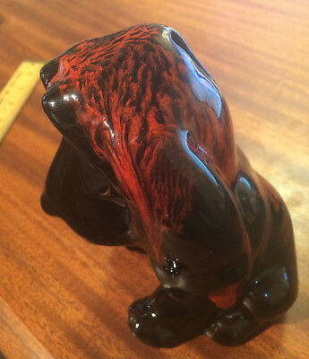 Vintage 70s? DOG Lava Piggy Bank - Lava Vase Era