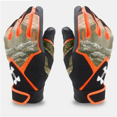 Under Armour CLEAN UP Batting Gloves REALTREE CAMO 1291214 915 Youth SMALL