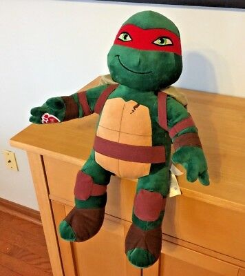 Teenage Mutant Nija Turtle Build A Bear Leonardo Swords