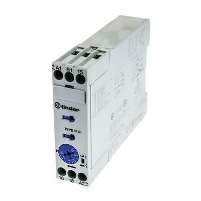 1 x Finder Multi Function Time Delay Relay, 24-240V ac, 24-48V dc, 1 Contact