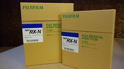 Fuji Blue Super RX X-ray Film, 10x12, box