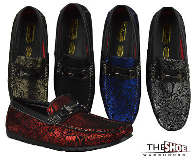 Men's Loafers Sedagatti Dress Shoes Moccasin Wedding Formal Slip-On SED746 Party