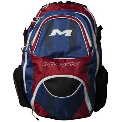 Miken Xl Backpack MKBG18-XL - Red/White/Blue