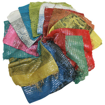 Lot of 100 Assorted Israeli Tichel Hair Cover Chemo Wrap Headscarf 100% Cotton