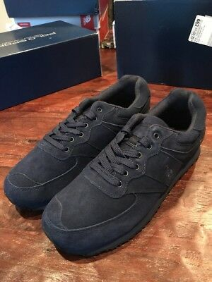 Slaton Ralph 11 New Black Mens Polo Lauren Shoes Pony Sport Sz 54jLAR