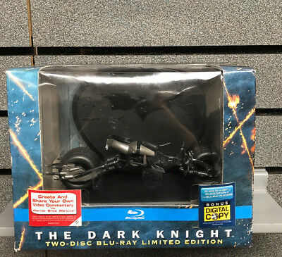 The Dark Knight Two-Disc Limited Edition | Bluray | New | Ships Fast