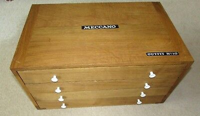 Meccano   Professionally Made Number Ten Set 4 Drawer Cabinet based on 1970's