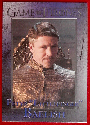 GAME OF THRONES - LITTLEFINGER - Season 3, Card #33 - Rittenhouse 2014