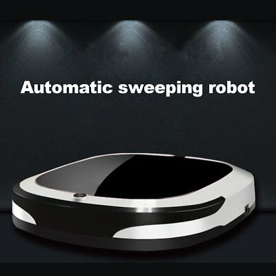 Auto Rechargeable Smart Robot Vacuum Cleaner Cordless Sweeping Mop Dry Wet AU