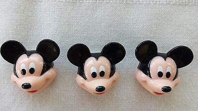 Disney Mickey Mouse BUTTON COVERS CLIP decorative blouse shirt accessories