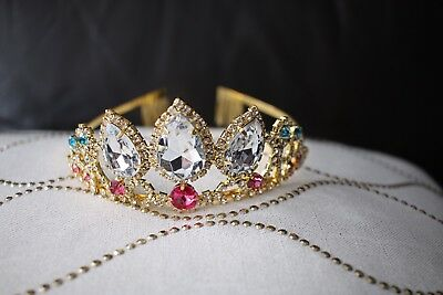 Princess Rapunzel of Tangled Tiara Crown With Larger Stones