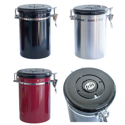 Friis Coffee Vault Stainless Steel Storage Canister