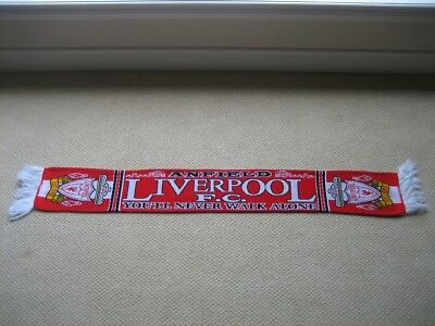 Liverpool Uk Official 1998 Scarf Brand New Soccer Premier League England Ver 2