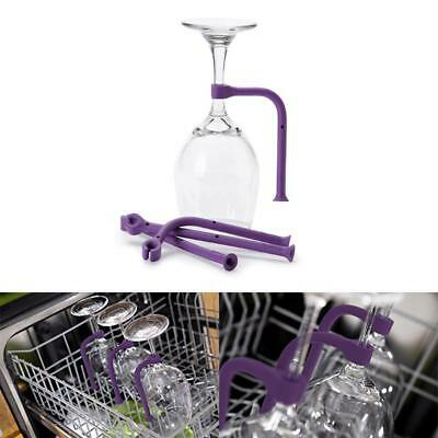 Wine Glass Holder New For Dish Washing Unique Kitchen Cleaning Tool 4 Pieces Set