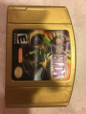The Legend of Zelda: Majora's Mask (Holographic Label) - Nintendo 64