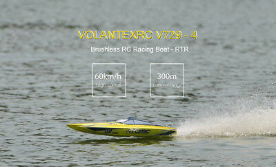 VOLANTEXRC Atomic Brushless RC Racing Boat RTR/ Fast Speed/Water Cooling System