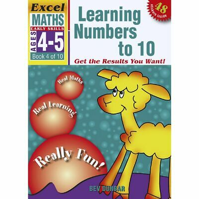Excel Early Skills Maths Book 4 Numbers to 10