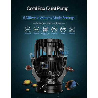 Coral Box QP-5 Ultra Quiet Pump Wave Maker UK Plug, UK Seller