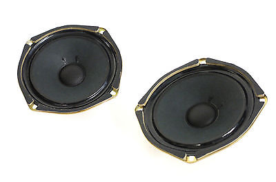 2 x Pioneer A16DC65-52E Speaker/Subwoofer/Woofer 8 Ohm (Pair) Speakers Top NOS