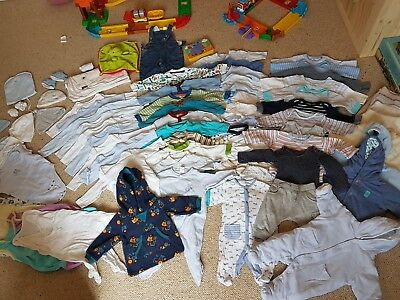 0 To 3 Months Baby Boys Clothes  Bundle, good condition and Quality