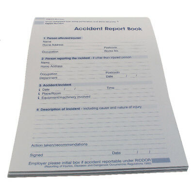 Wallace Cameron Accident Report Book 5401015