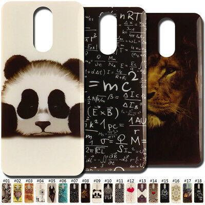 Painted Skin Cute Protective Cover Silicone Soft TPU Case Back For Huawei Phones