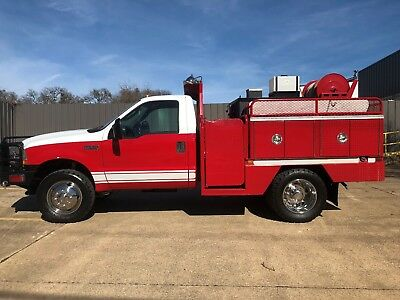 2004 F-550 4wd FIRE BRUSH TRUCK  ONE OWNER 30K MILES