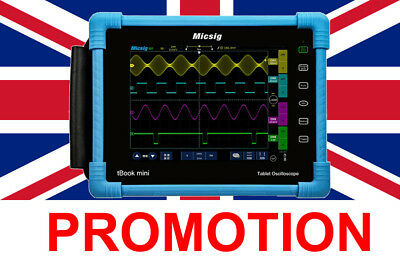 Micsig TO1104 Plus 100MHz Battery Powered Tablet Oscilloscope
