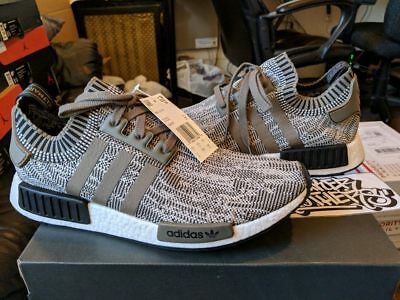 official photos ce07e adf7a Adidas NMD R1 PK Primeknit Runner Nomad Boost Sesame Branch Core Black  AQ0929