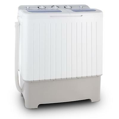400W XXL Washing Machine By OneConcept 6.8 kg Spin Dry 5.2kg Home Garden Shed RV