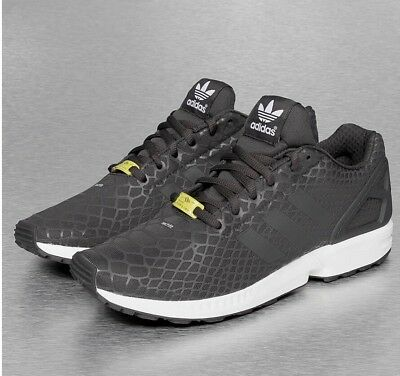 ADIDAS Originals ZX Flux Techfit Shadow Nero/Grigio Bianco S75488 RRP 80.