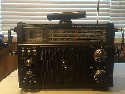 Venturer 2959-2 Multiband AM/FM/CB/SW/Air/WB/PB Radio Receiver